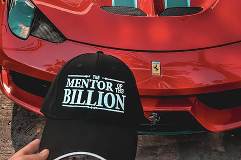 gorra the mentor of the billion
